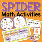 Spider Web Five and Ten Frame Fun: Math Activities for ECE