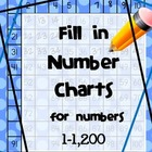Fill in Number Charts 1-1200 (Hundreds Charts)
