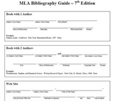 Fill-in-the-Blank Bibliography Slips