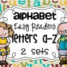 Fill in the letter: Alphabet Easy Readers {52 books}