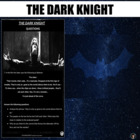 Film study: The Dark Knight (test; summary; script excerpt