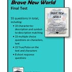 Final Test for Huxley's Brave New World