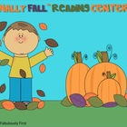 &quot;Finally Fall&quot; Literacy Centers