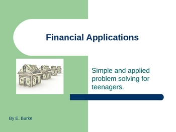 Financial Applications