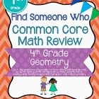 Find Someone Who - 4.G.3 - Symmetry - Common Core Math