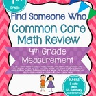 Find Someone Who - 4.MD.1 - Bundle - Common Core Math