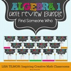 Find Someone Who (Algebra 1) Activity Bundle