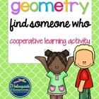 Find Someone Who -- Geometry