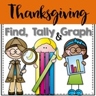 Find, Tally and Graph- Thanksgiving