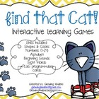 Find That Cat! Interactive Learning Games
