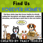 Find Us Forever Homes (Critically Reading, Analyzing Infor