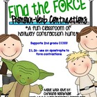 Find the Force- Contractions from Pronouns &amp; Verbs... Clas