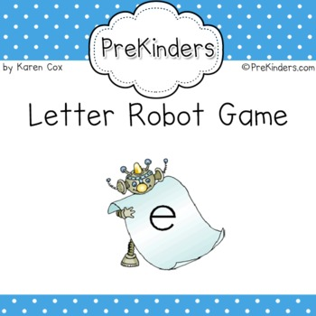 Find the Letter Robot Game