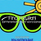 Find the Sun {Differentiated Sight Word Games}