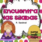 Find the Syllables in Spanish Encuentra las sílabas