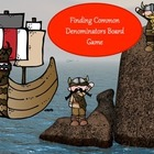Finding Common Denominators Board Game - Viking Theme