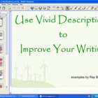 Finding & Creating Vivid Descriptions