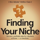 Finding Your Niche Study Guide: I is for Inspiration & Inv