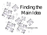Finding the Main Idea Power Point