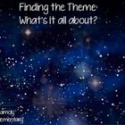 Finding the Theme (Using Pictures and Poetry)