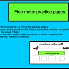 Fine Motor Writing Practice - Autism and Special Education