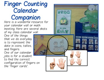 Finger Counting Calendar Companion