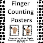 Finger Counting Posters