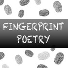 Fingerprint Poetry Writing Template Grades 4-12, Unique wr