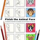 Finish the Animal Face