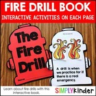 Fire Drill Interactive Reader { Simply Kinder }