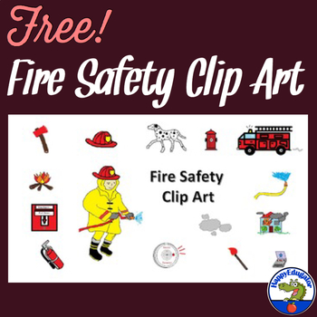 Fire Safety Clip Art Related Keywords - Fire Safety Clip ...