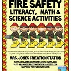 Fire Safety Literacy, Math, and Science Activities
