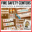 Fire Safety Math & Literacy Centers K-1