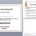 Fire Safety Unit- Kindergarten