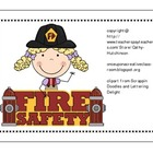 Fire Safety Unit for Early Elementary - Lots of Activities