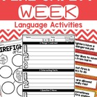 Fire Safety Week Language Activities