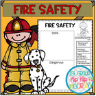 Fire Safety...Craft and Activities...Save My Ink