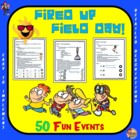 "Fired up Field Day! - ""50 Fun Events"""