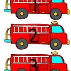 Firefighter Number Patterns:  Freebie!