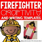 Firefighter Writing Craftivity