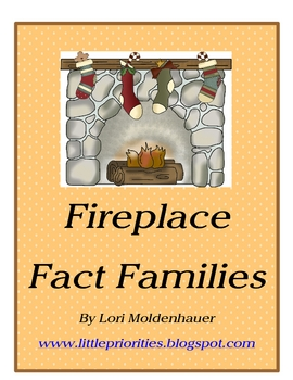 Fireplace Fact Family Math Center