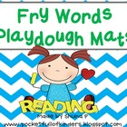 First 100 Fry Word Playdough and Tracing Mats