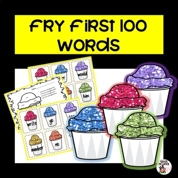 http://www.teacherspayteachers.com/Product/First-100-Words-on-the-Fry-List-729879