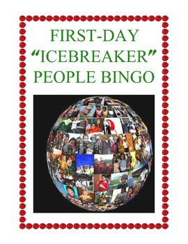 First Day Activity: People Bingo