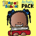 First Day Back Mini Activity Pack
