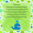 First Day Poem - Ocean Theme