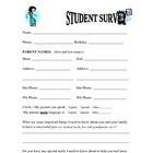 First Day Student Survey