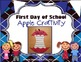 First Day of School Apple Craftivity