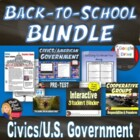 First Day of School Essentials for Secondary CIVICS