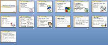 First Day of School Health Open House PowerPoint Lesson Plan